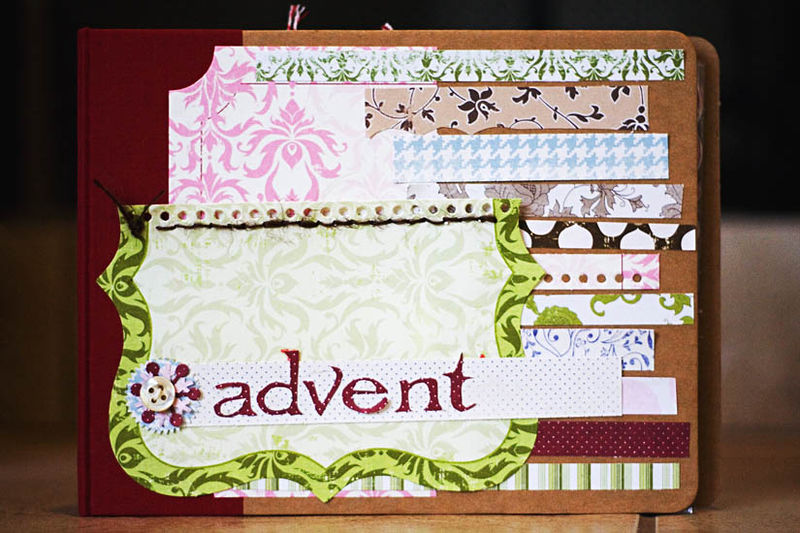 Holly Advent Cover