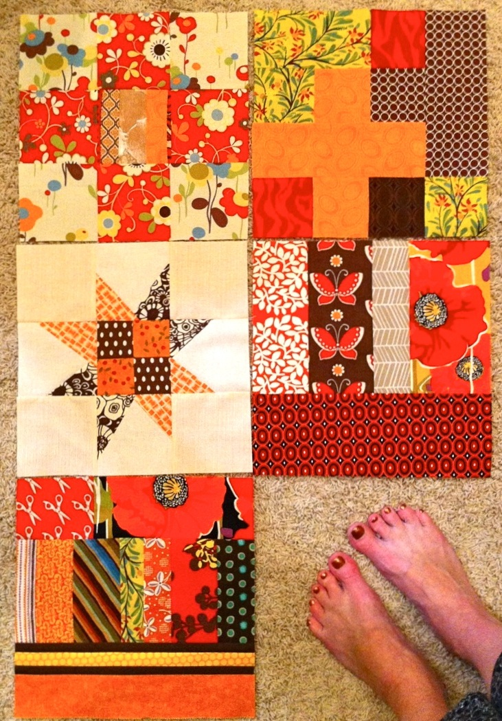 It's Just Sew October Blocks for Katie