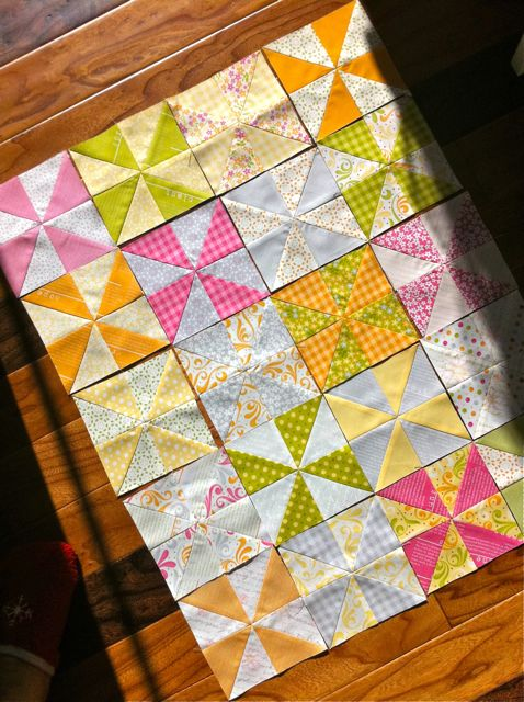 When life hands you charm squares...