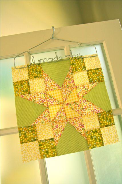 Pinwheel wonky star